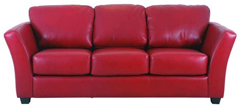 red leather sofa bed genuine leather sofa italian leather 321 modern leather