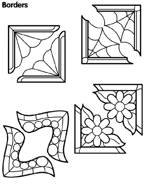 crayola coloring pages digital photos corner borders crayola com au