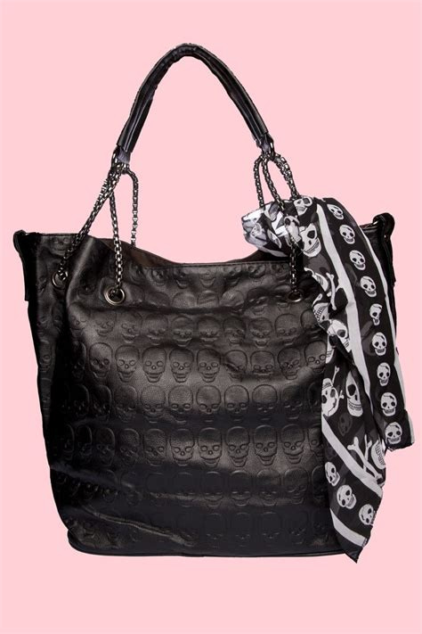 Topshops Skull Scarf Slouch Bag by Mcqueen Skull Bag Scarf My Style
