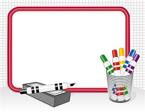 whiteboard background educational background material vector drawing board