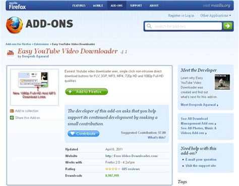 download youtube addon firefox download youtube videos with firefox extension