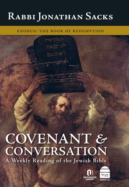 libro conversations with rabbi small koren publishers covenant conversation exodus book