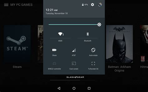 What Android Means by Nvidia Shield Tablet Android Lollipop Review Slashgear