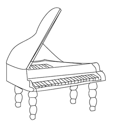 musical instruments coloring pages printable musical instrument coloring pages print out coloring home