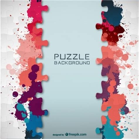 layout puzzle vector puzzle background vectors photos and psd files free