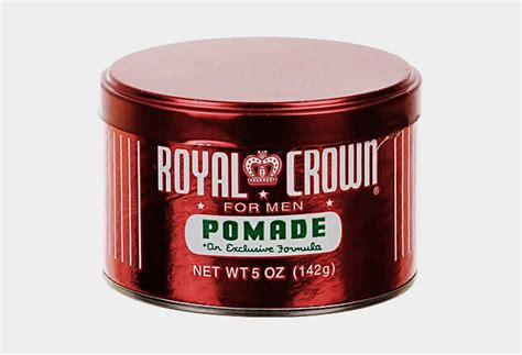 Pomade Royal Crown the best pomades for cool material