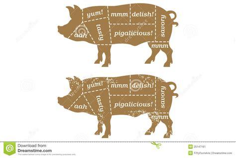 pig butcher diagram 8 best images of pig cuts chart pork cuts