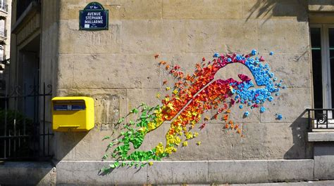 Urban Wall Stickers street art by mademoiselle maurice paris france
