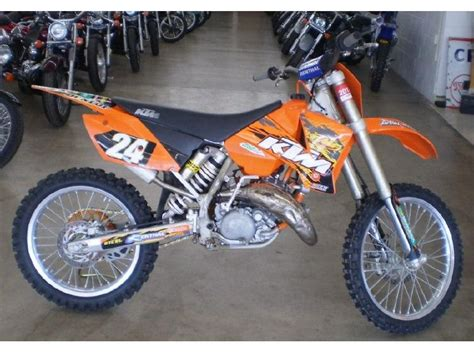 2004 Ktm 125 Sx 2004 Ktm 125 Sx For Sale On 2040motos