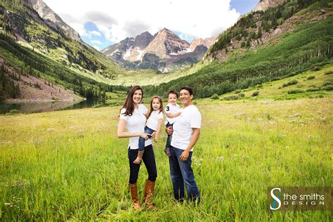 Family Portraits Aspen Maroon Bells   The P Family