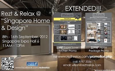 home design expo singapore rezt relax interior design 388 super saver kitchen and
