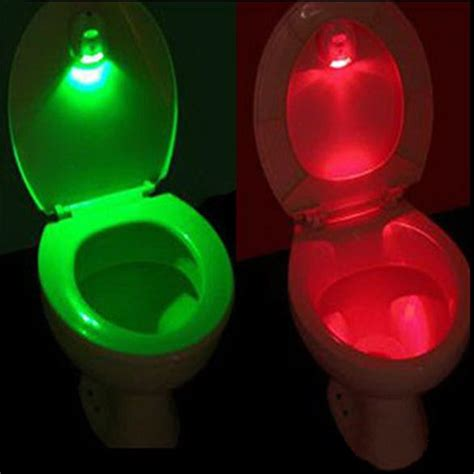 Activated Lights by Led Sensor Motion Activated Toilet Light Bathroom Flush Toilet L Battery Operated Light