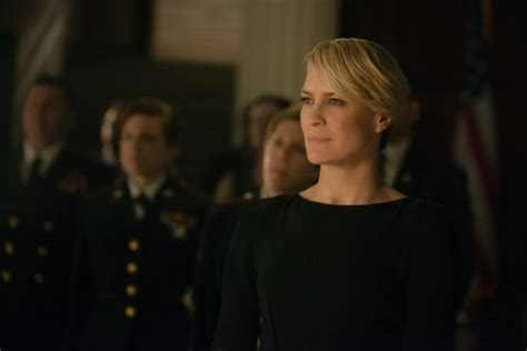 question about robin wright house of card watchers may robin wright talks claire underwood and season 2 of