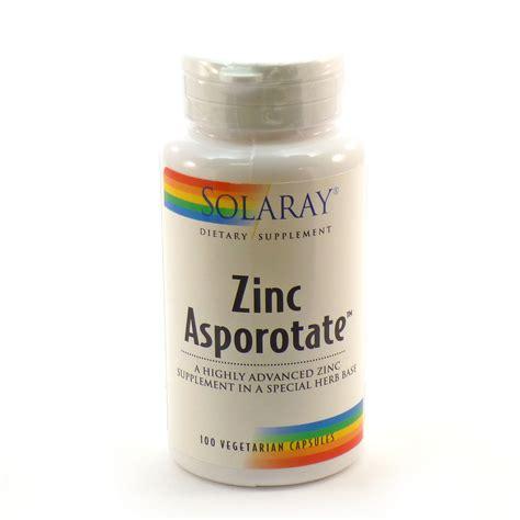 Promo Spesial Zinc Capsules zinc 15 asporotate by solaray 100 capsules