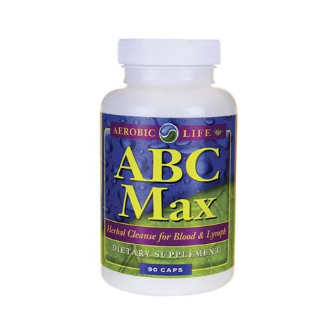 Lymph Detox Herbs by Abc Max Herbal Blood Lymph Cleanse 90 Caps
