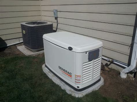 10kw generac standby generator install in lake tapps