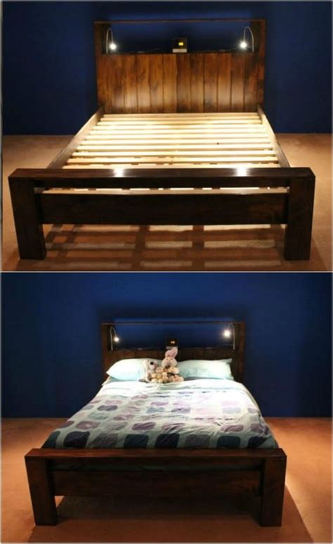 Diy Bed Frame Cheap by 21 Diy Bed Frame Projects Sleep In Style And Comfort