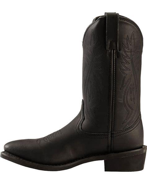 mens justin cowboy boots justin s ranch and road cowboy work boot medium toe
