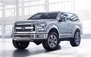 Ford Bronco 2016 Price 2016 Ford Bronco Price Concept Pics Interior 2017 2018