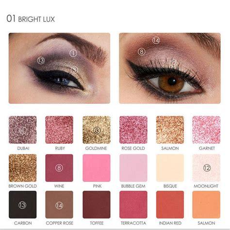 Ready Stock Focallure 18 Colors Eyeshadow Palette Eye Shadow Color 18 color pearlescent eyeshadow palette bellechic