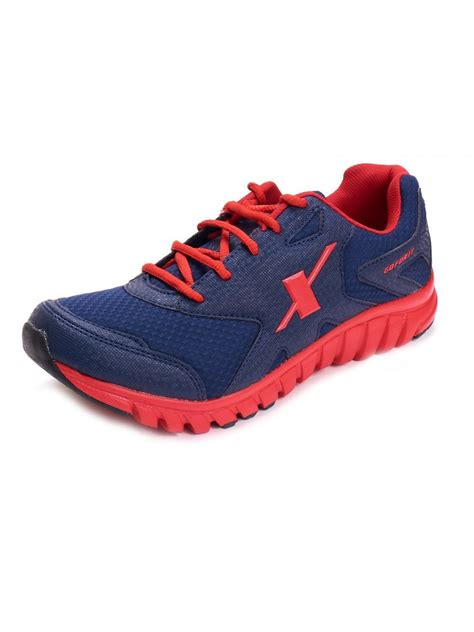 sparx shoes sparx sports shoes in blue color sm185 bl rd