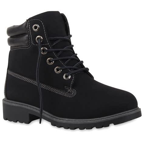 Outdoor Schuhe Damen by Damen Stiefeletten Outdoor Boots Schn 252 Rstiefel Schuhe