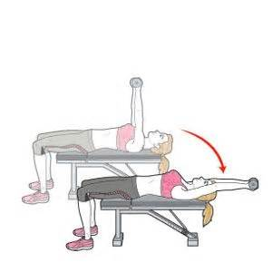 flat bench pullover pin by maddie rawlings on back workouts