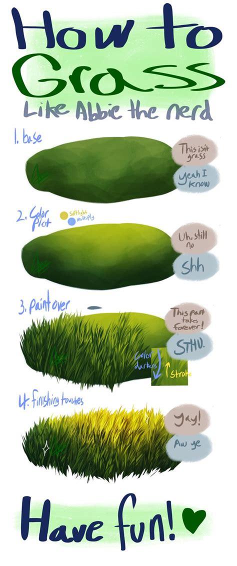 paint tool sai grass tutorial my grand grass guide by alridpath on deviantart
