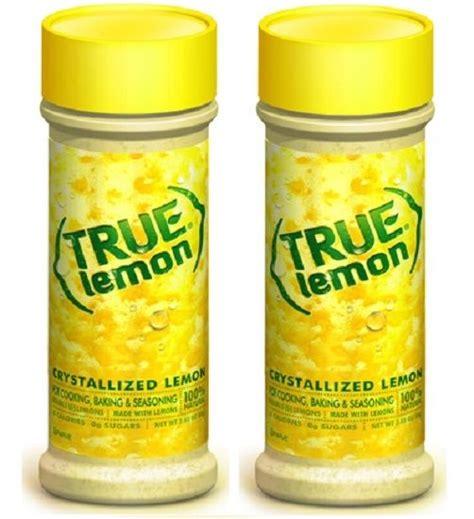 Free Product Sles True Lemon And True Lime by True Lemon Crystallized Lemon Powder 2 Bottle Pack Tanga