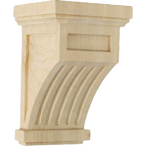 what is corbel fluted corbels wood corbels