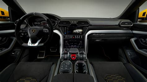 lamborghini urus interior  wallpaper hd car
