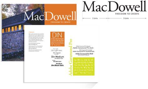 new york women in communication bernhardt fudyma design developing a brand identity system the macdowell colony