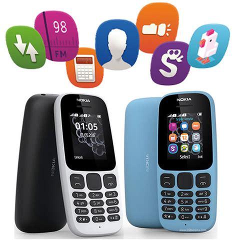 Nokia 105 Handphone White Dual Sim by Jual Nokia 105 Dual Sim 2017 Handphone White
