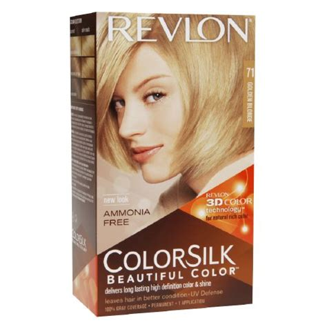 best otc blonde hair color colorsilk by revlon ammonia free permanent haircolor