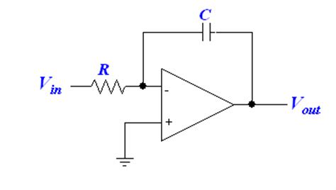 circuit of integrator lifier op integrator differentiator ece tutorials