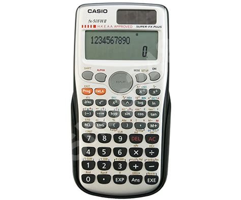Casio Kalkulator Calculator Casio Fx Fx 50f Ii Fx 50f Ii casio fx 50f 函數計算機 casio fx 50f scientific calculator