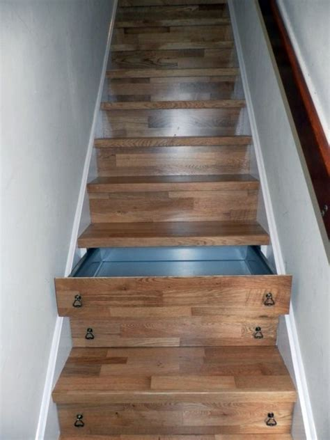 Stairs With Drawers In The Risers by Created By Stairs Drawers Plenty Of Storage Space Stairs