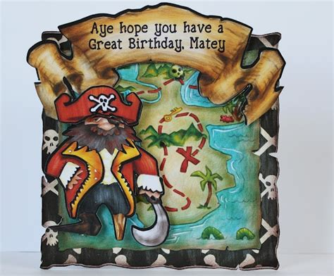 printable birthday card pirate 204 best images about cricut cards on pinterest mickey