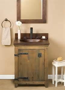 Farmhouse Vanity Bathroom Trails 24 Quot Americana Vanity In Chestnut Farmhouse Bathroom Vanities And Sink Consoles