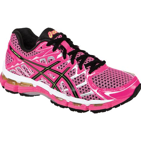 pink running shoes womens asics gel surveyor 2 womens running shoe neon pink black