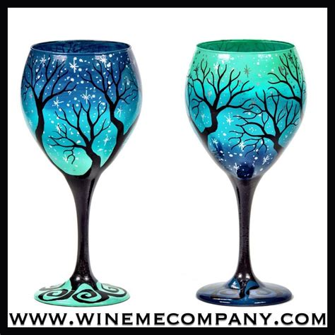 wine glass painting painted wine glasses email winemecompany gmail com
