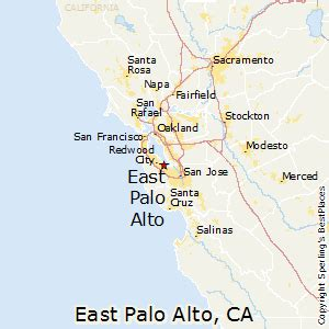 where is palo alto california on a map best places to live in east palo alto california