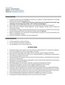 resume for software test engineer resume for software test engineer