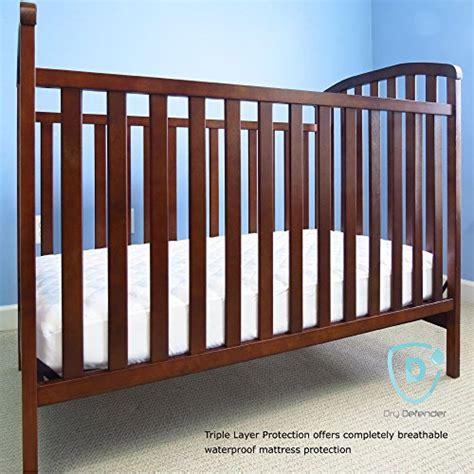 Bamboo Crib Mattress Bamboo Waterproof Crib Mattress Pad Quilted Baby Crib Cover And Protector With