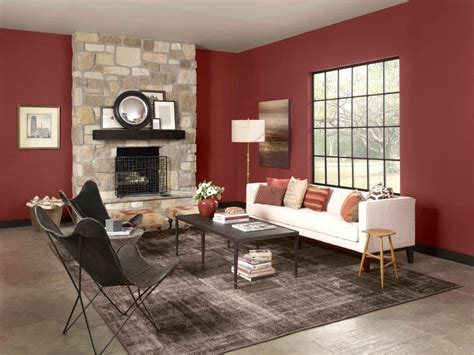 warms living rooms paint color cinnabar csp 1165