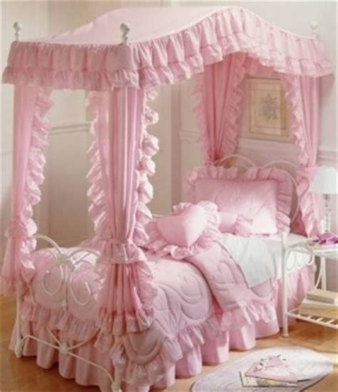little girl canopy bed girls canopy bedroom set foter