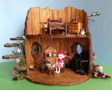 doll house crafts once upon a doll collection bjd fairy tree dollhouse craft project
