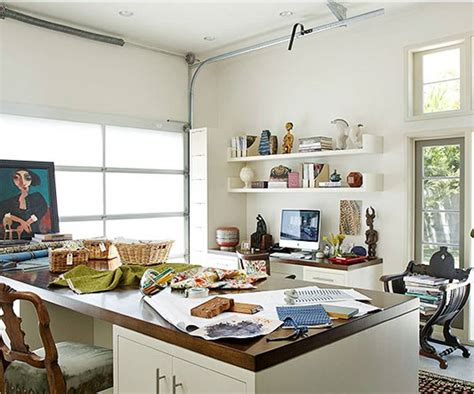 garage offices these 10 home garages show how you should really use the