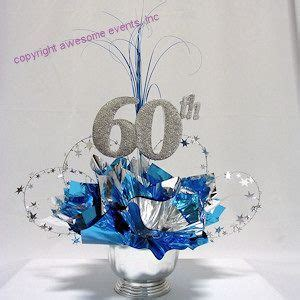 60th Birthday Party Table Decorations   60th Milestone