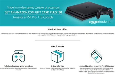 Can You Trade In A Gift Card For Cash - you can trade in consoles games for a gift card 50 off 1tb ps4 pro details here